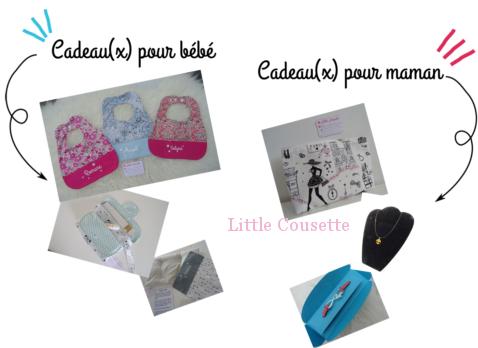 box cadeau maman bébé par Little Cousette