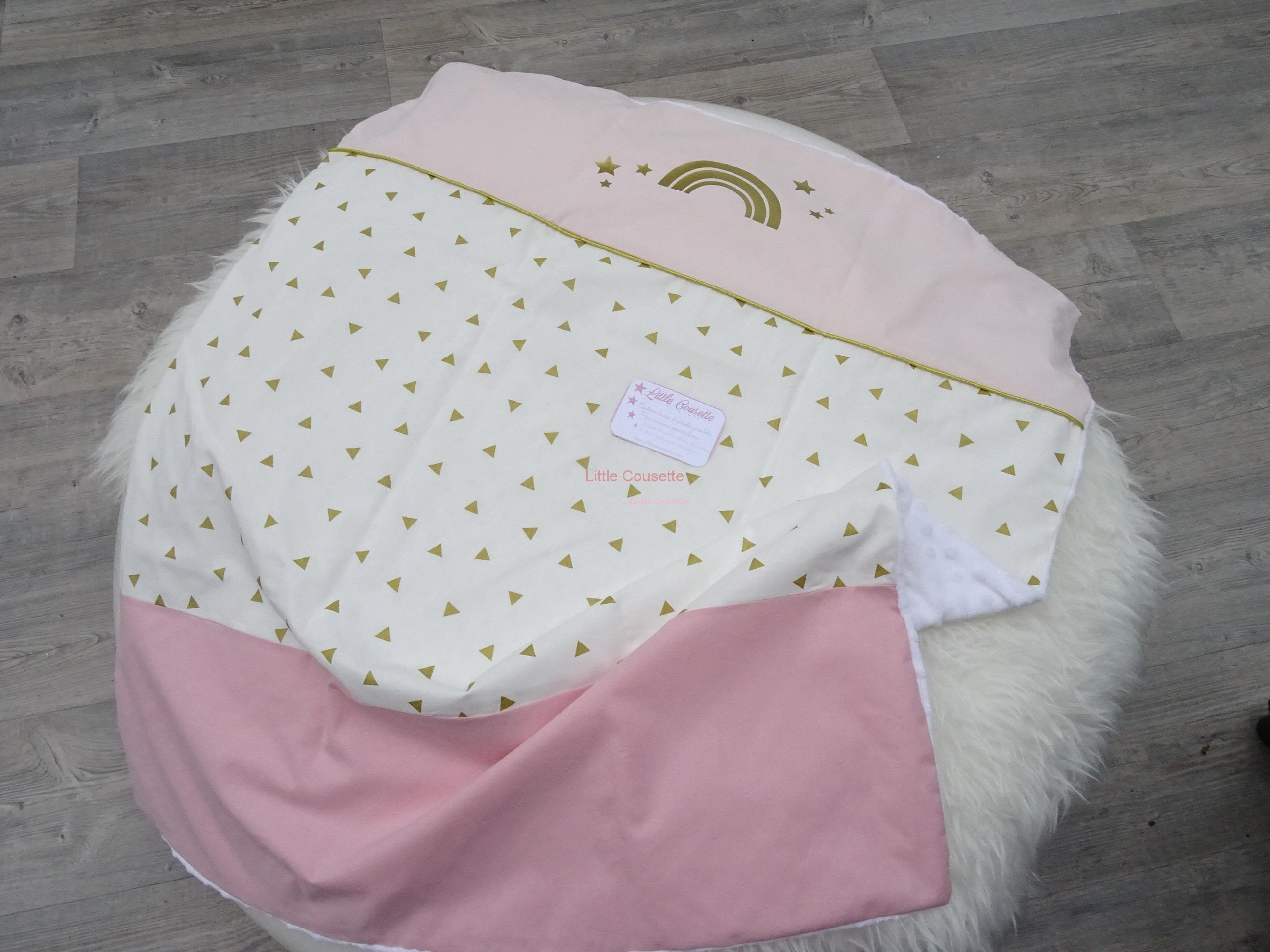 Grande couverture bébé ultra-douce personnalisé