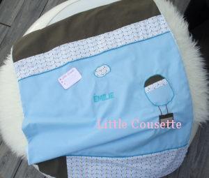 couverture personnalisée bébé patchwork