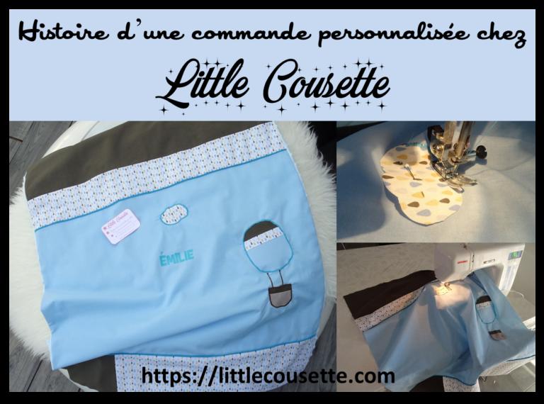 Histoire d'une commande personnalisée chez Little Cousette