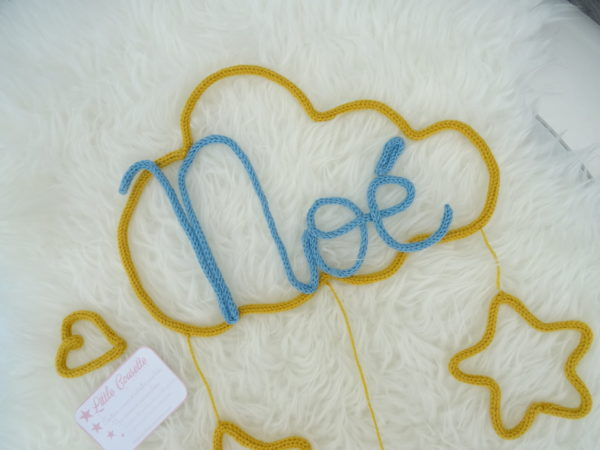 prénom tricotin et nuage