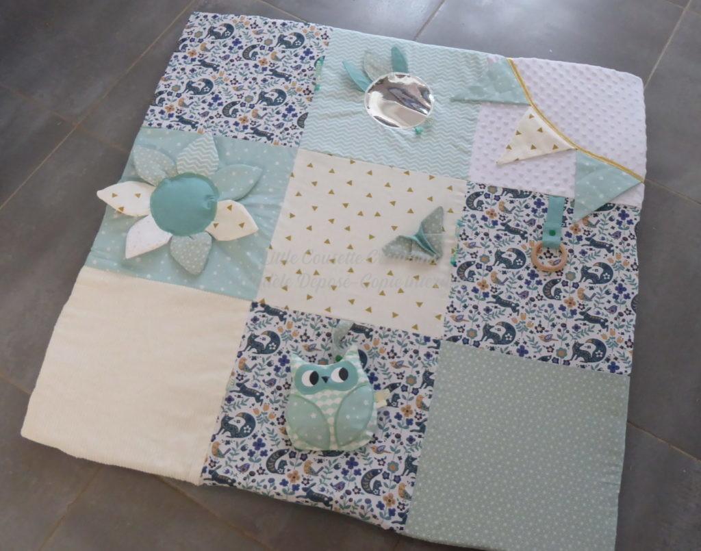 tapis eveil montessori-tapis eveil multiactivites bébé cadeau naissance