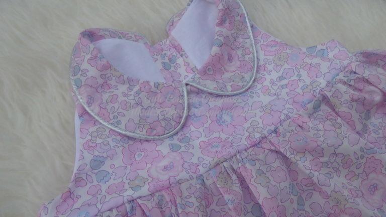 Robe fillette en tissu Liberty of London-robe sur mesure
